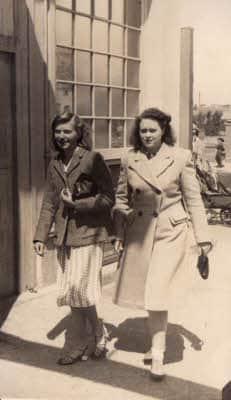 1947 June Bogner Regis Pier Christine and Beryl