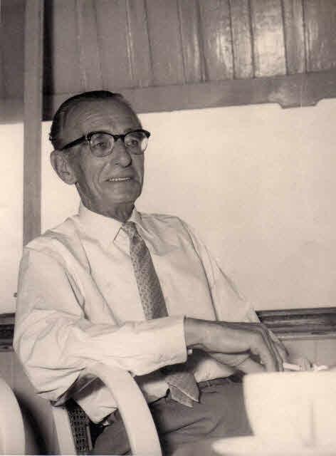 George Whitehead in 1958.