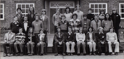 The Amenity and Commercial Course students in October 1975.