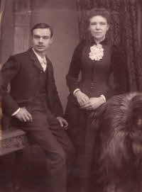 1893 Grandfather George and Grandmother Emma Denny Whitehead