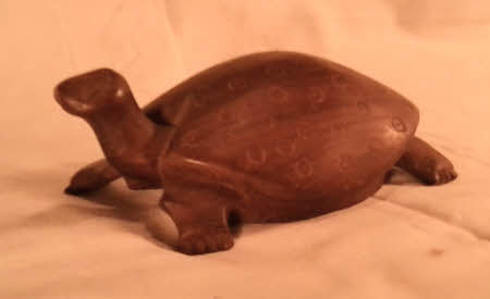 Tortoise. Souvenirs from Kenya.