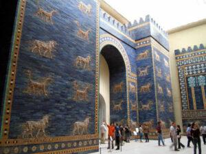 Ishtar Gate at Berlin Museum.