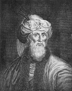 Drawing of Josephus.