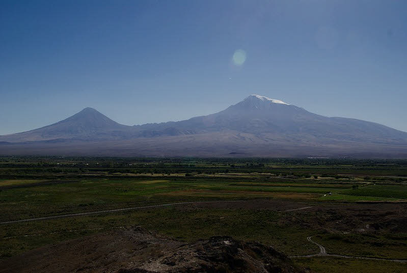 Mount Ararat, Armenia.