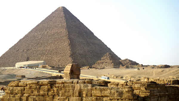 The Sphinx and Great Pyramid of Giza