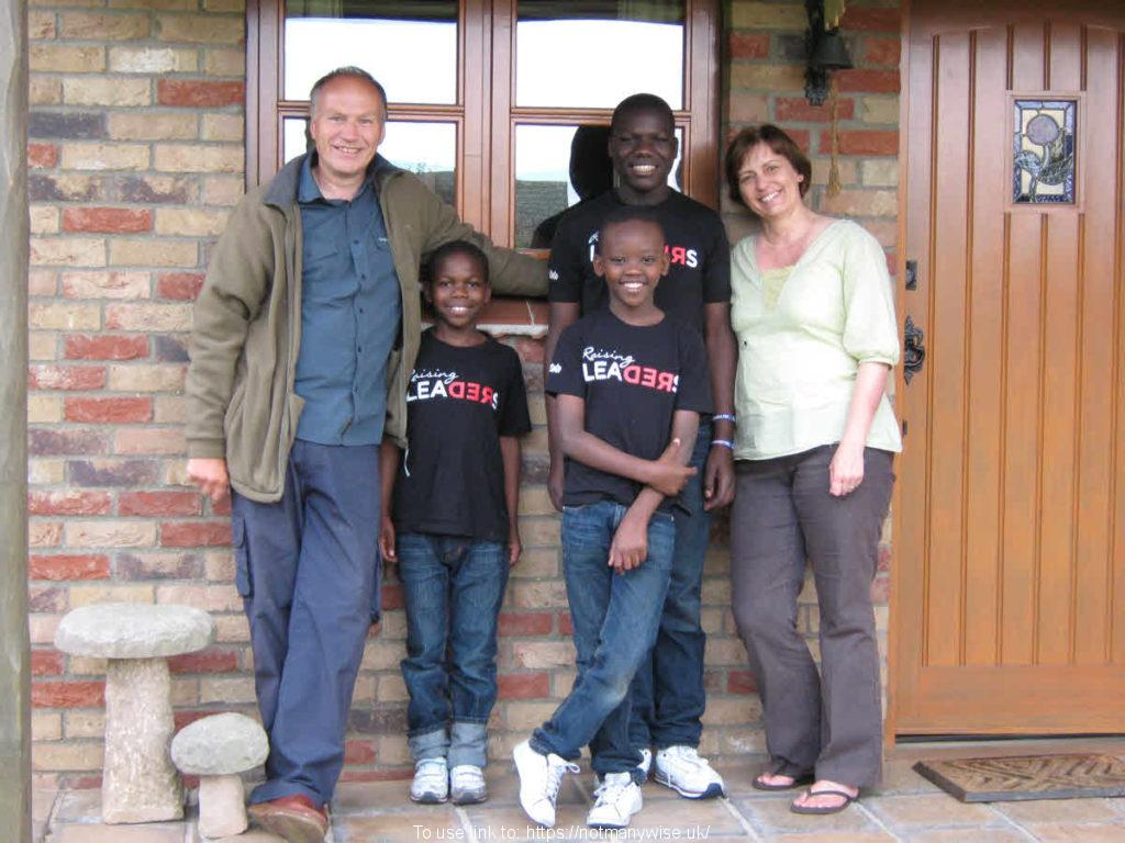 A few of the Watoto African children's choir June 2011 with us.