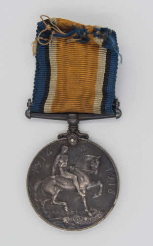 World war 1 war medal.