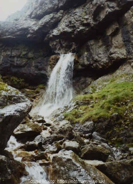 Gordale Scar waterfall