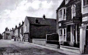High Street, Earith looking west.