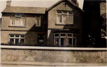 John Wales' house in Earith in the 1930's.