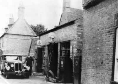 Albert Maile's Garage Earith now the River View pub.