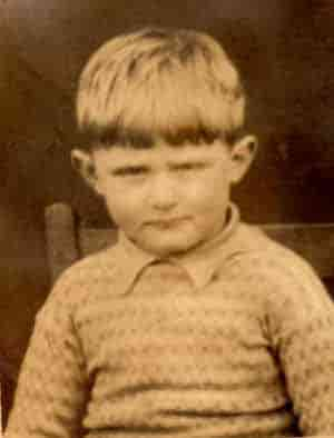A young John (Jack) Wales.
